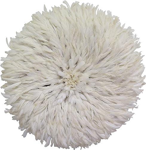 Old World Shoppe Large White Juju Hat