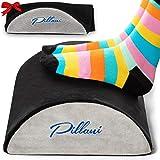 PILLANI Foot Rest for Under Desk at Work – Foot Stool for Desk at Work – Office Footrest - Ergonomic Adjustable Comfort Foam