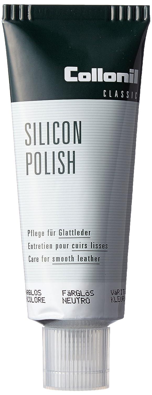 Tubo de crema que protege, limpia y cuida Collonil Silicon Polish 75 ml (Marrón oscuro)