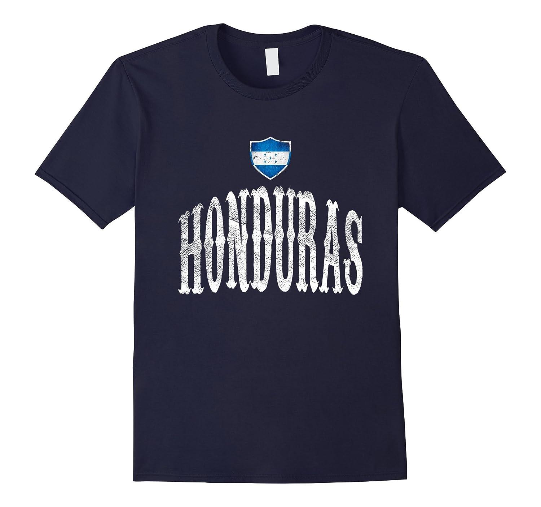 Vintage Honduras Flag T-shirt Hondurans Pride Sports-CD