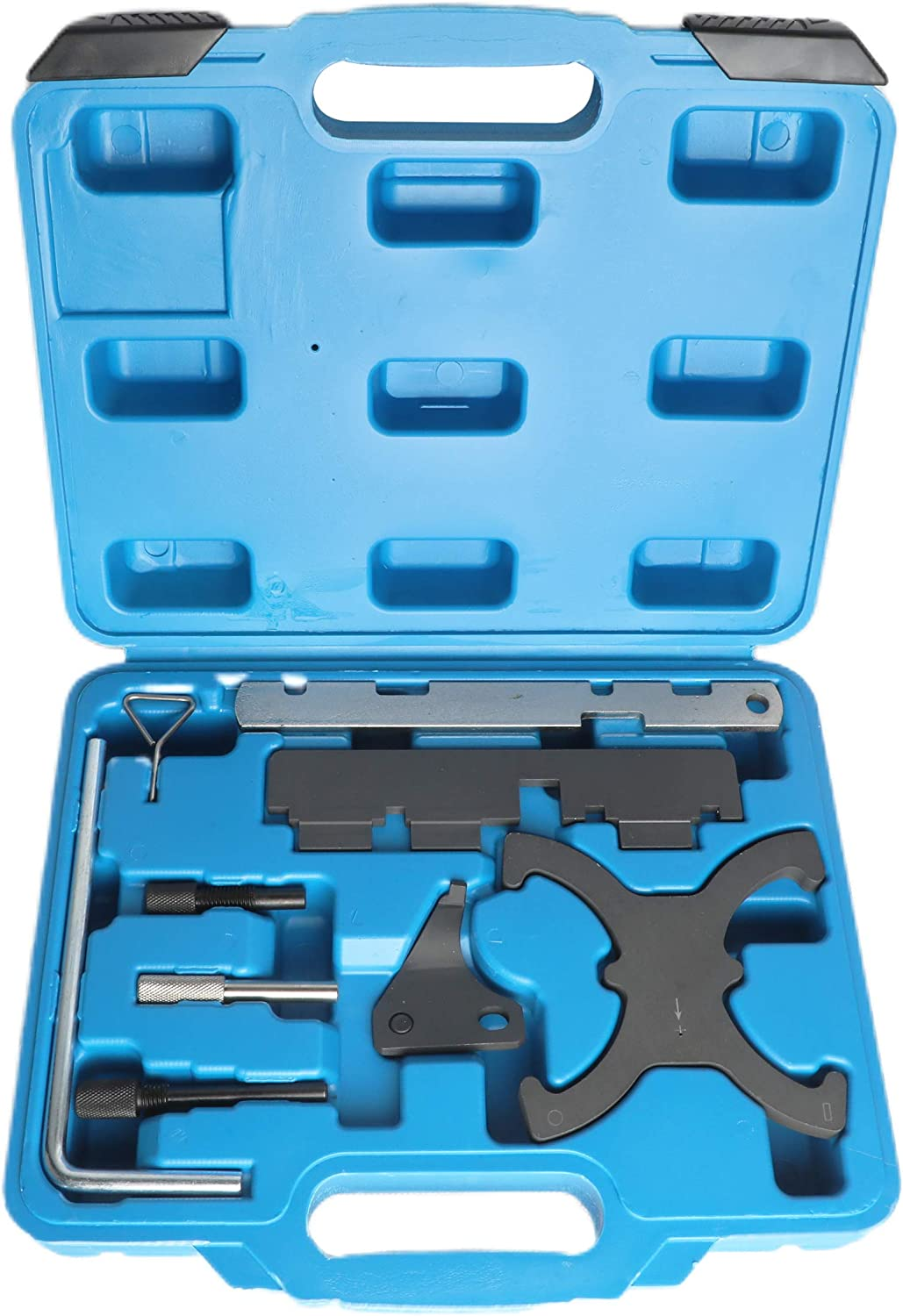BELEY Auto Engine Camshaft Belt Timing Locking Tool Set Compatible with Ford 1.5 1.6 Fiesta VCT Focus//C Max 1.6 VCT-Ti