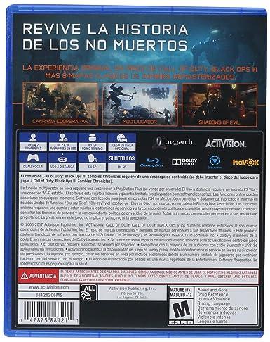 Amazon.com: PS4 CALL OF DUTY BLACK OPS III ZOMBIES ...