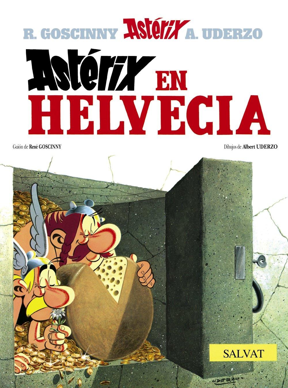 Asterix en Helvecia / Asterix in Switzerland (Spanish Edition)