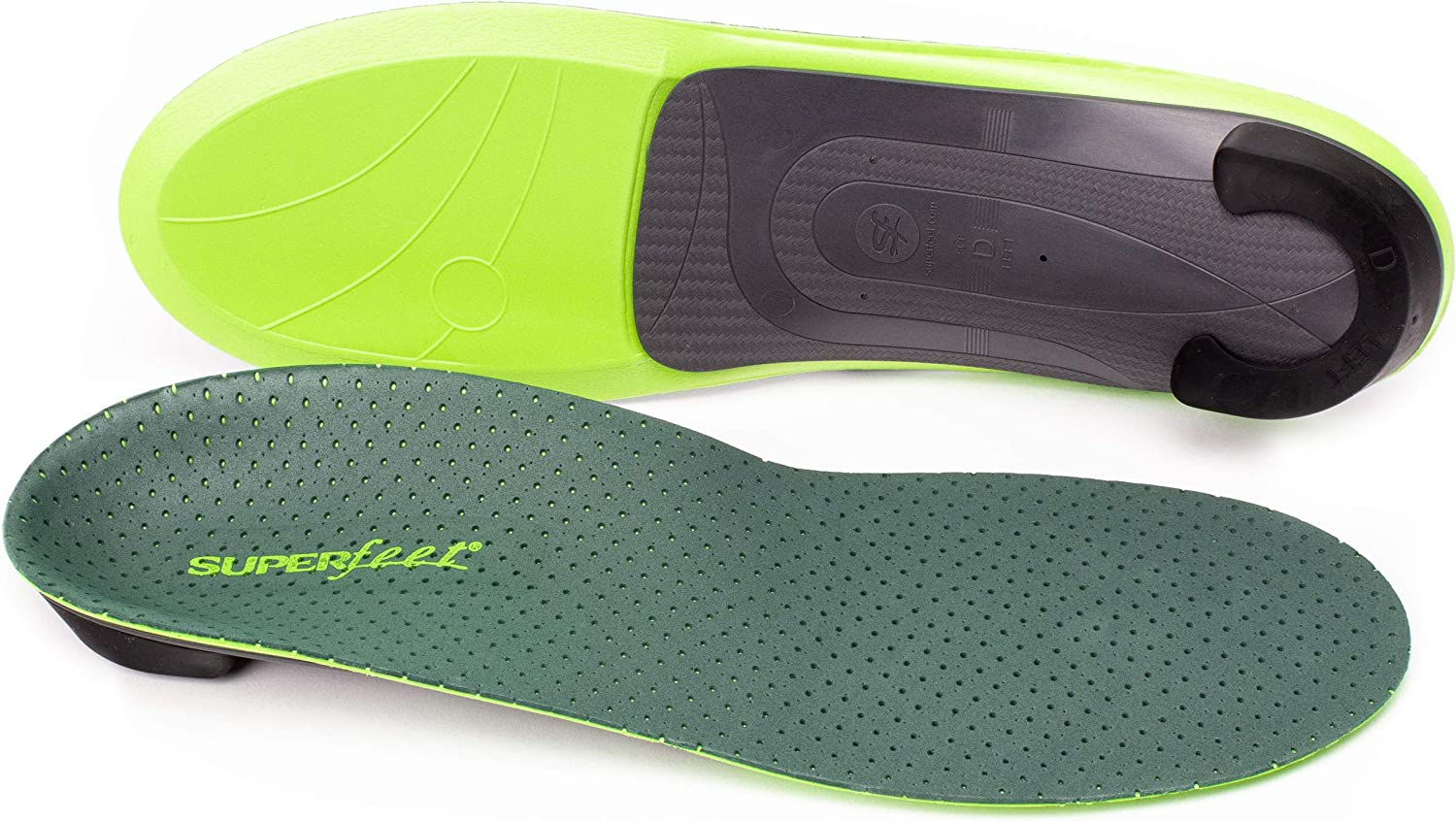 Superfeet Everyday Comfort Full Length Insoles Insert Arch Supports ALL SIZES
