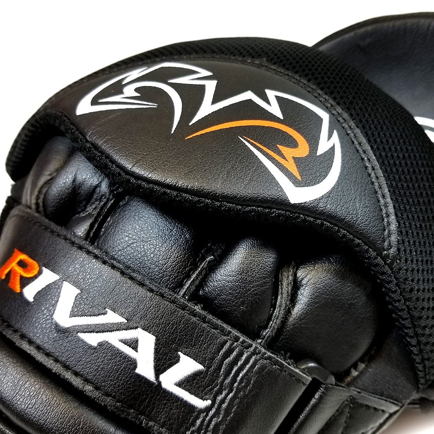 Rival RPM5 Black Parabolic Boxing Punch Mitts