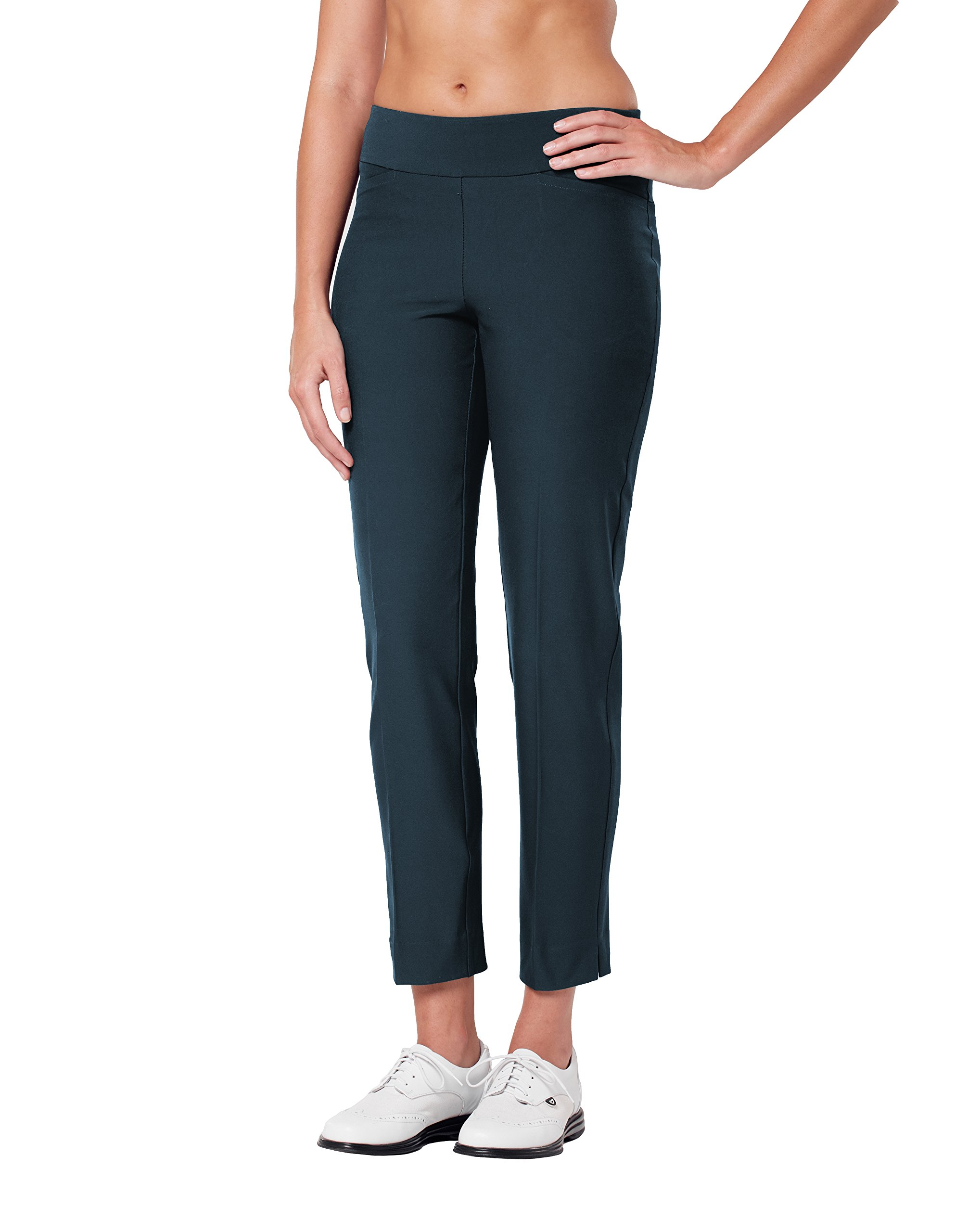 Tail Ladies Forever Forgiving Mulligan Slim Fit Ankle Pants Navy 6 by Tail