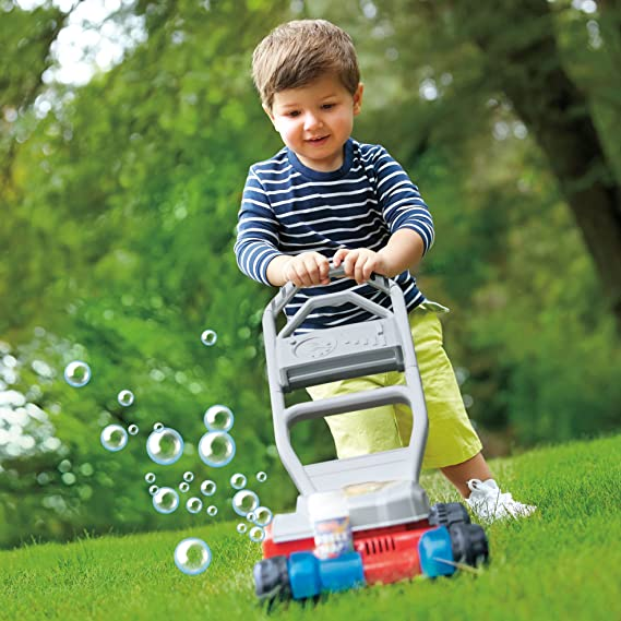 Amazon Fisher Price Bubble Mower Toys Games