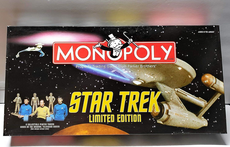 Star Trek~limited Edition Monopoly by Parker Brothers: Amazon.es: Juguetes y juegos