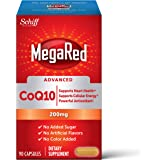 Megared CoQ10 Advanced 200mg Capsules, (90 Count in a Box), Supports Heart Health & Cellular Energy Production