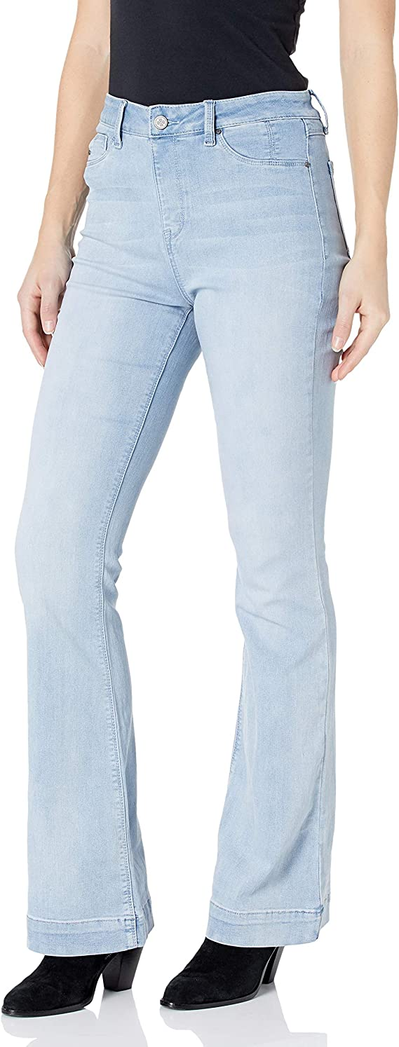 Laurie Felt Petite Silky Denim Baby Bell Pull-On Jeans Brt Blue PXXS NEW A295665