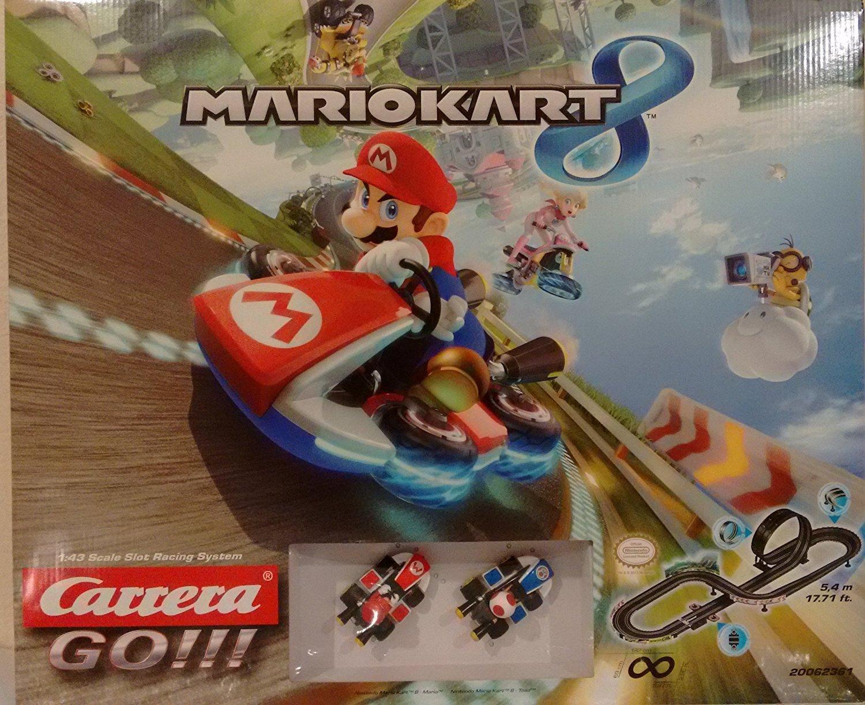 Amazon.com: Carrera Boys GO!!! - Nintendo Mario Kart 8 Track Set: Toys & Games