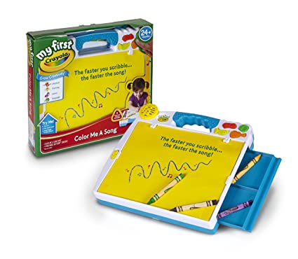 amazon com crayola my first color me a song musical toy for