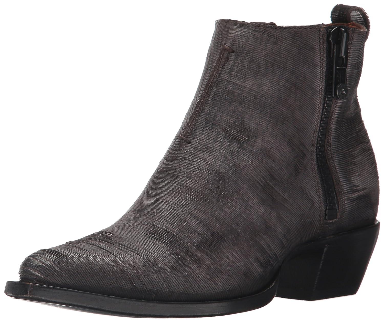 FRYE Women's Sacha Moto Shortie Ankle Bootie B01MU5IVZ8 11 B(M) US Charcoal Cut Vintage Leather