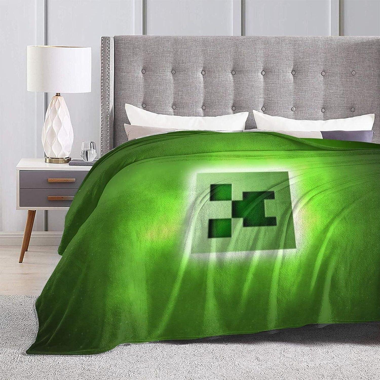 232 Mi-Necraft Couverture ultra douce en micro polaire ultra douce pour lit de vacances dhiver 127 x 102 cm