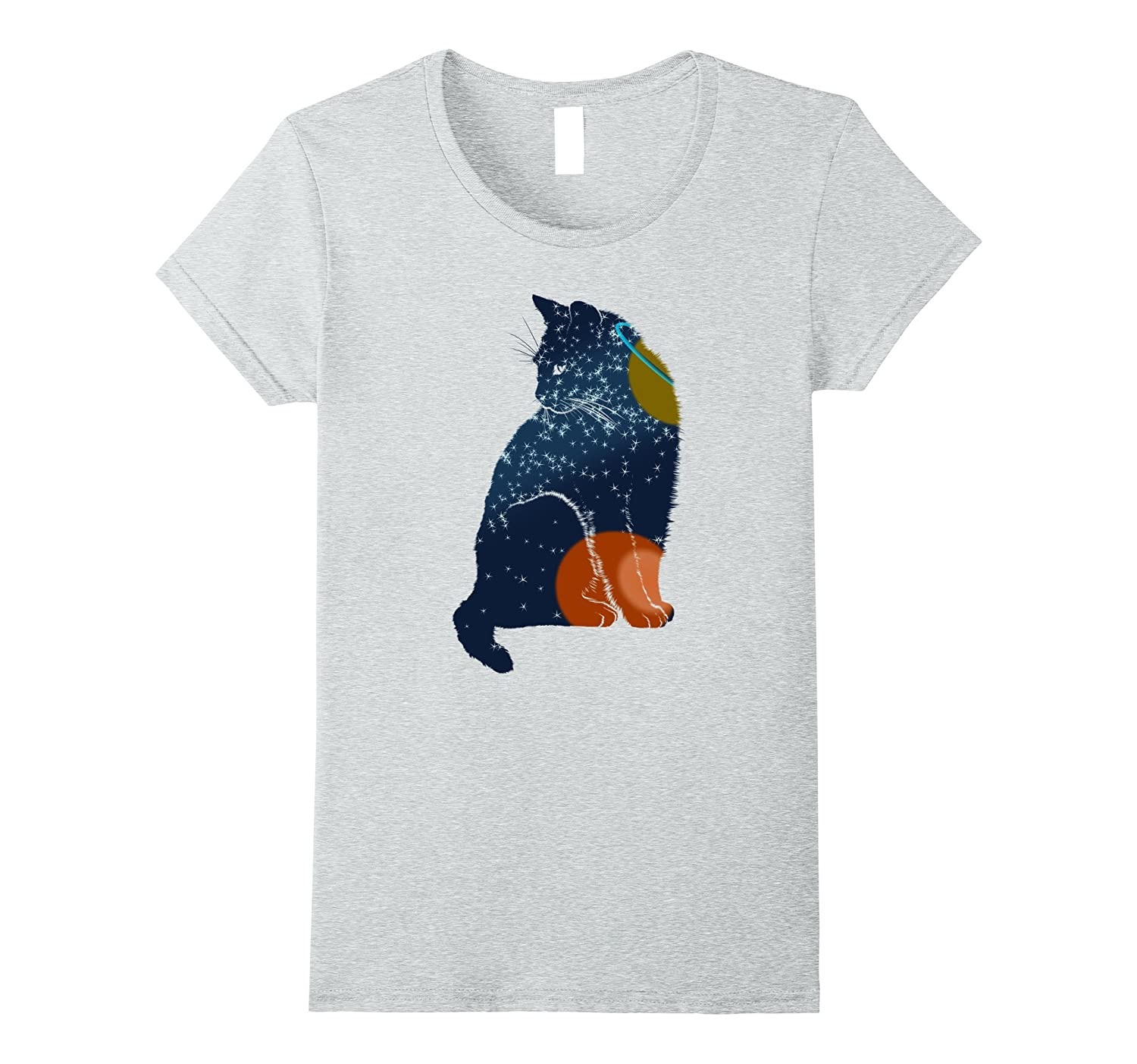 Funny Cool Space Cat Shirt Special Gift-Awarplus