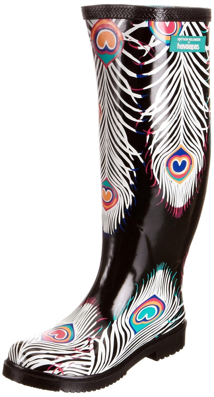 b95b2fc5da15 Havaianas Women s Mw Printed Rain Boots