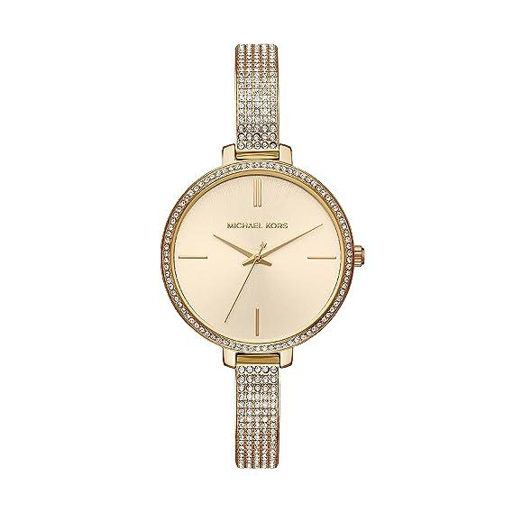 Michael Kors Reloj Analogico para Mujer de Cuarzo con Correa en Acero Inoxidable MK3784