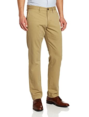Dockers Men's Modern Khaki Slim Tapered Flat Front Pant at Amazon ...