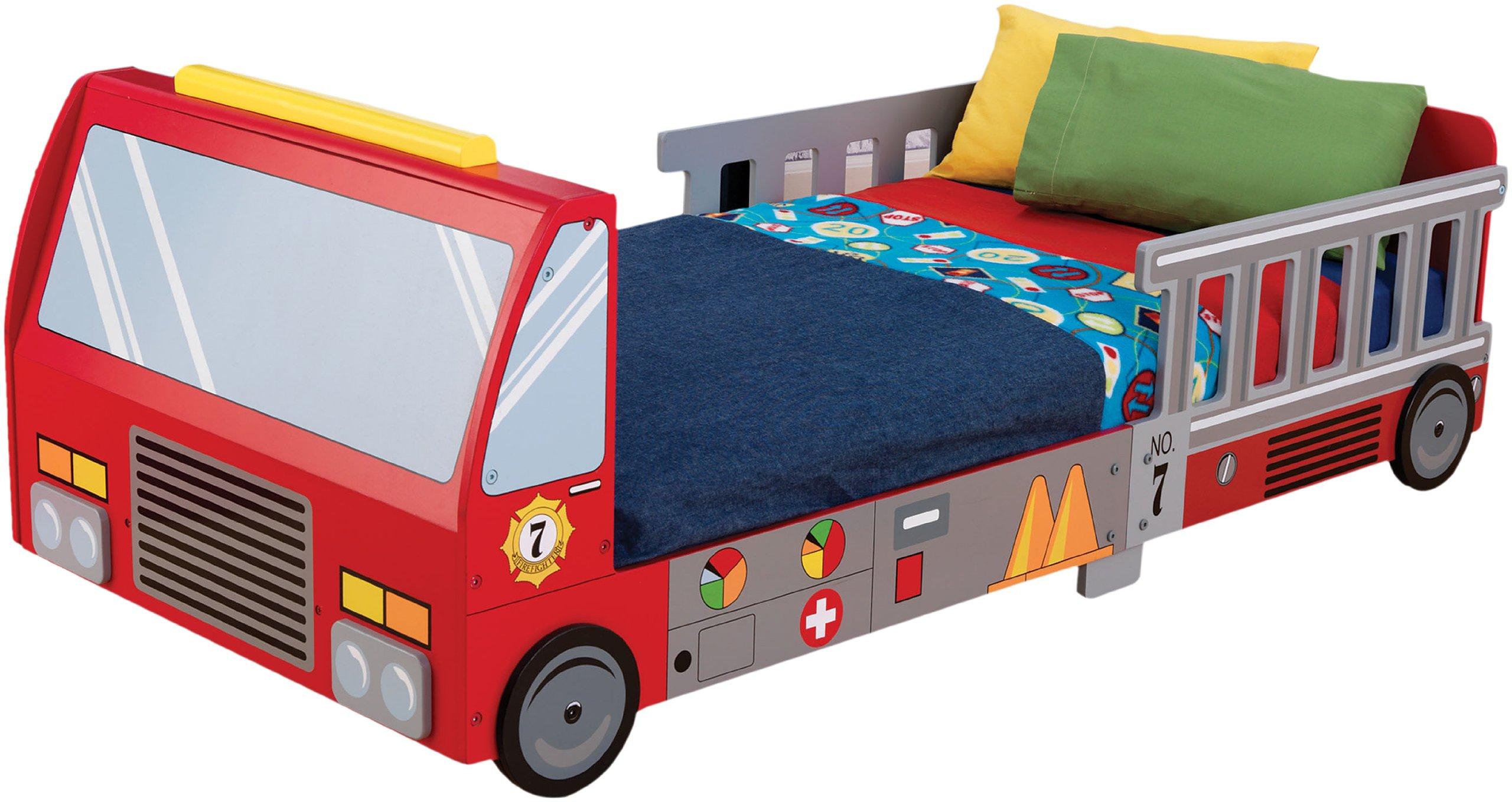KidKraft Fire Truck Toddler Bed by KidKraft