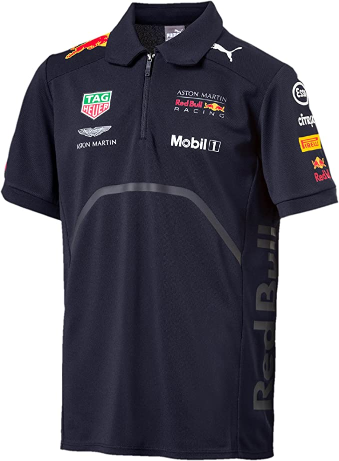 VARIOUS SIZES AVAILABLE ASTON MARTIN RACING TEAM ISSUE POLO SHIRT MENS