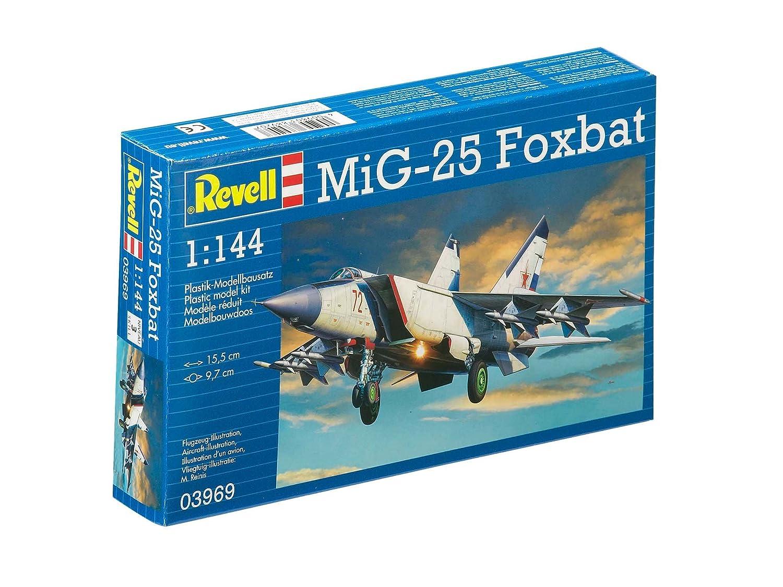 Revell Revell03969 MiG-25 Foxbat Model Kit: Amazon.co.uk: Toys & Games