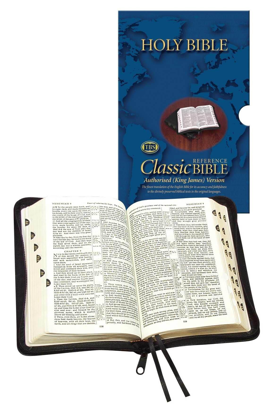 thumb index Bible