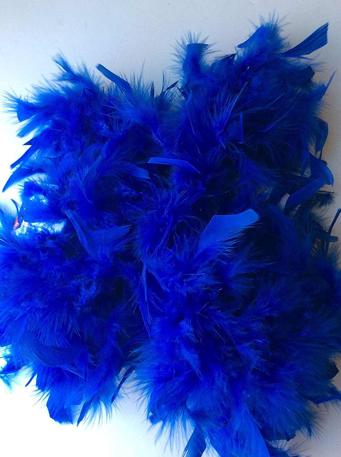 6 ft Royal Blue Feather Boa, Great for Little Girl Big Girl Dress up