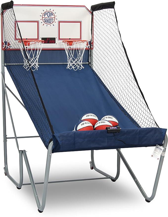 Pop-A-Shot Dual Shot Basketball Arcade Game - Best Arcade Basketball Game