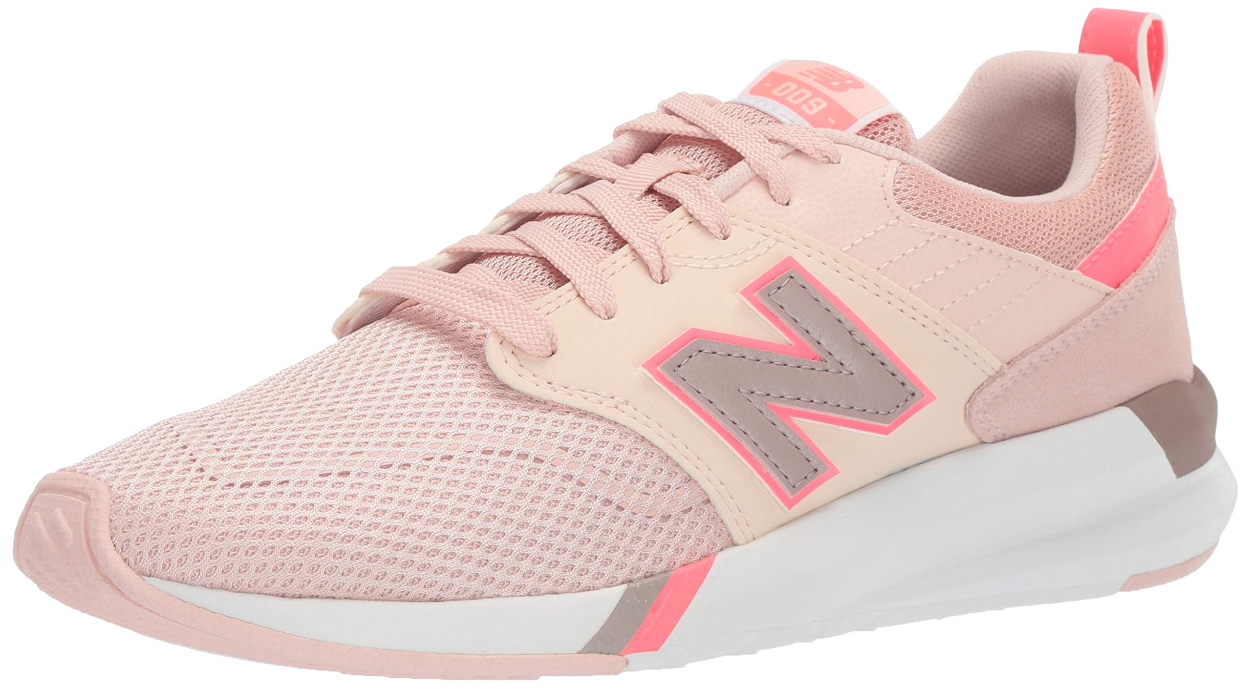 New Balance Women's 009 V1 Sneaker, Pink, 5 W US