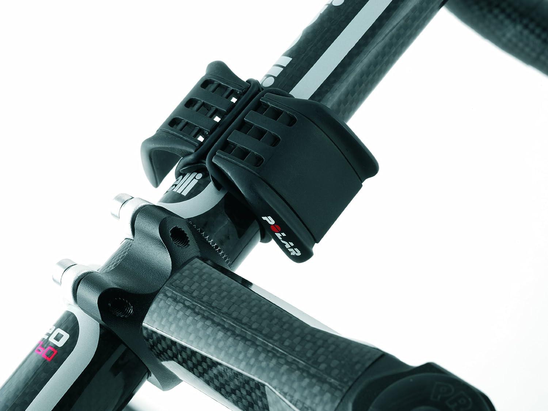 Polar - Soporte de manillar de bicicleta para reloj/pulsómetro ...
