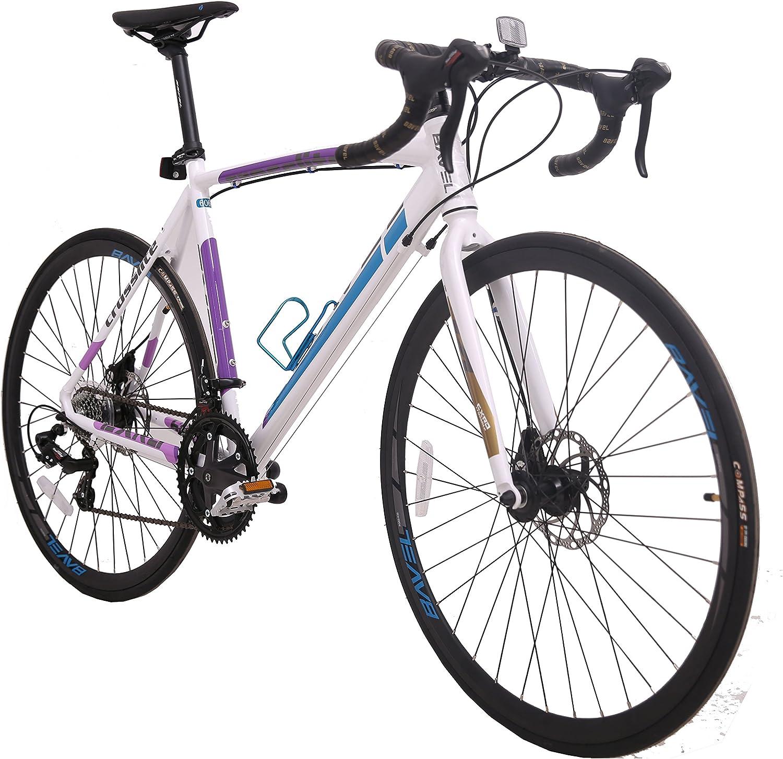 BAVEL Races Bicicleta de Carretera Ultraligera 700C Bicicleta de ...