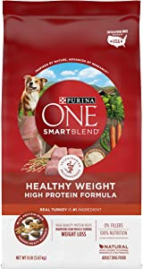 Purina ONE SmartBlend Natural Healthy Weight Formula Adult Dry Dog Food & Wet Dog Food