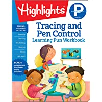 Preschool Tracing and Pen Control (Highlights Learning Fun Workbooks)
