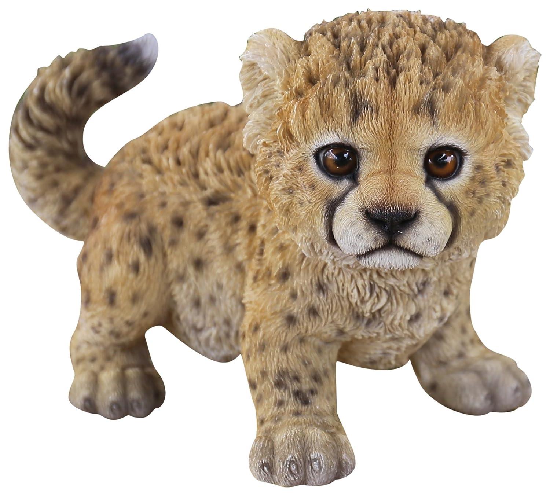Hi-line regalo Ltd Baby Cheetah estatua: Amazon.es: Jardín