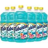 Fabuloso All Purpose Cleaner, Ocean Paradise, Bathroom Cleaner, Toilet Cleaner, Floor Cleaner, Shower and Glass Cleaner…