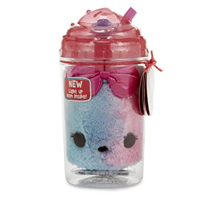 Num Noms Lights Surprise in a Jar-Candy Sparkle Snow Scented Plush