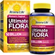 Renew Life - Ultimate Flora Probiotic Women's Care - 50 billion - probiotics for women - daily digestive and immune health supplement - 60 vegetable capsules