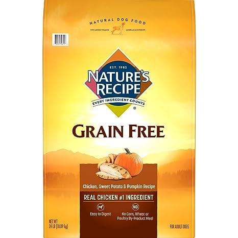 Amazon natures recipe grain free easy to digest dry dog food natures recipe grain free easy to digest dry dog food chicken sweet potato forumfinder Choice Image