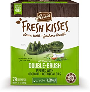 product image for Merrick Fresh Kisses Oral Care Dental Dog Treats for Dogs Small Dogs 5-15 lbs
