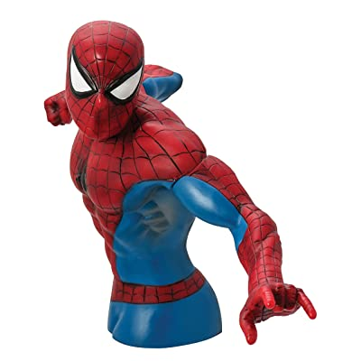 Monogram Spider-Man Action Figure Bust: Toys & Games