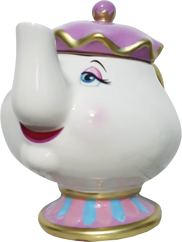 Primark Th/éi/ère en c/éramique Mme Samovar de la Belle et la B/ête de Disney vendue par Divasworld