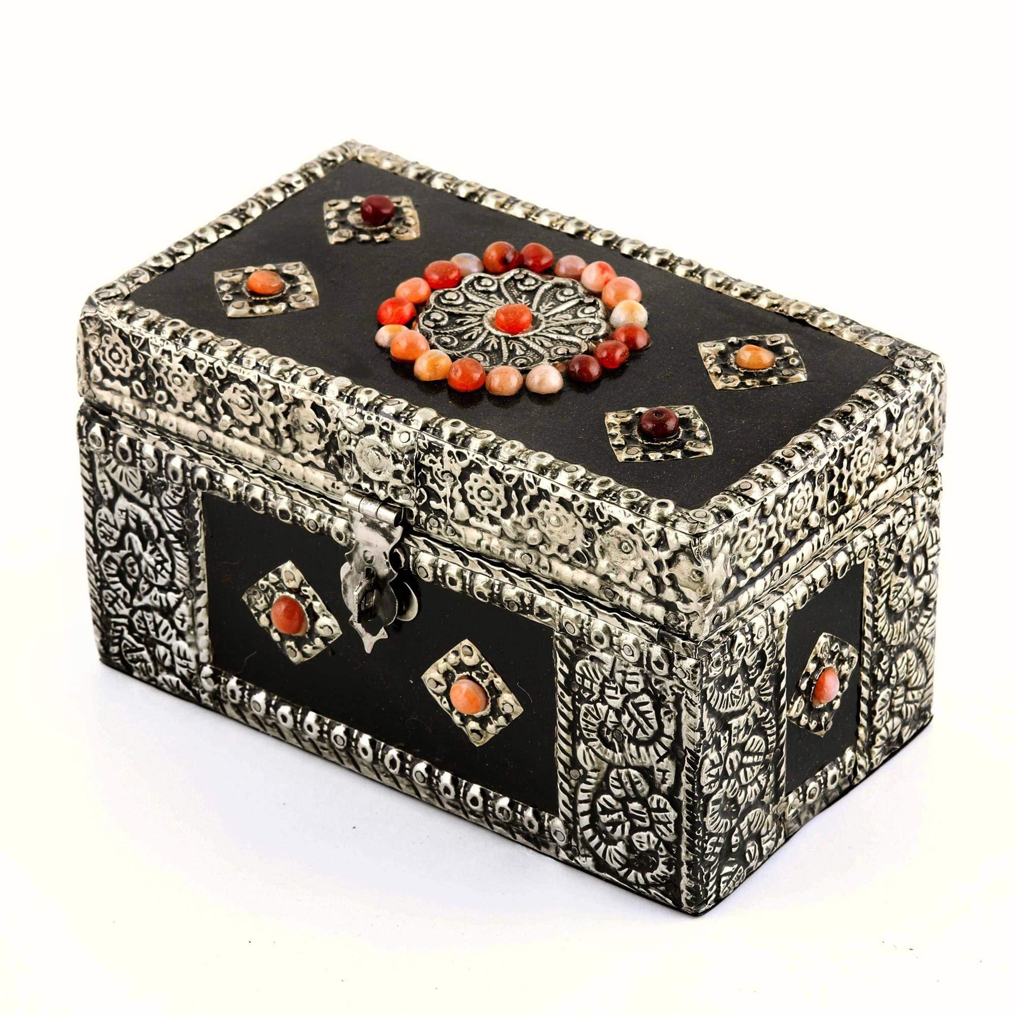 NOVICA 109753'' Treasure Chest Brass Jewelry Box by NOVICA