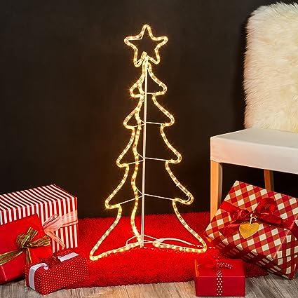 Decorazioni Natalizie 94.Xmasking Pino In Tubo Luminoso H 94 Cm 180 Lampade Chiare Luci Di Natale Decorazioni Natalizie Xmasking Amazon It Casa E Cucina