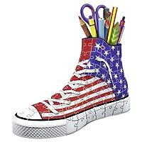 Ravensburger - 12549 - Puzzle 3D Sneaker American Style 108 Pièces
