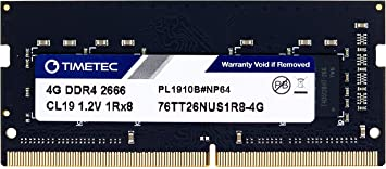 8GB Memory for Biostar B360TH Motherboard Compatible RAM Upgrade DDR4 2666MHz SODIMM RAM PARTS-QUICK Brand