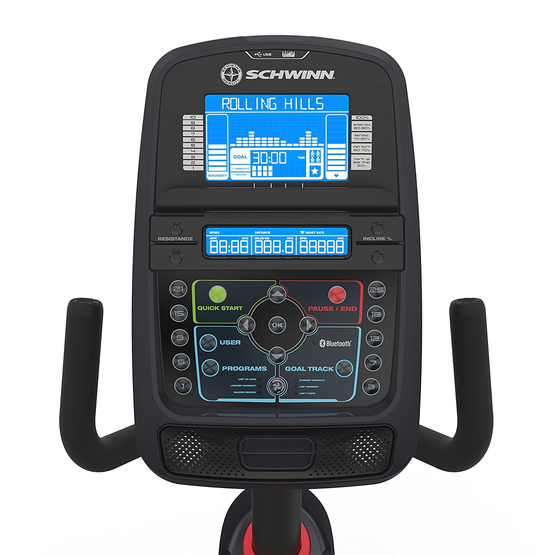 Schwinn 270 Recumbent Exercise Bike - Digital Display