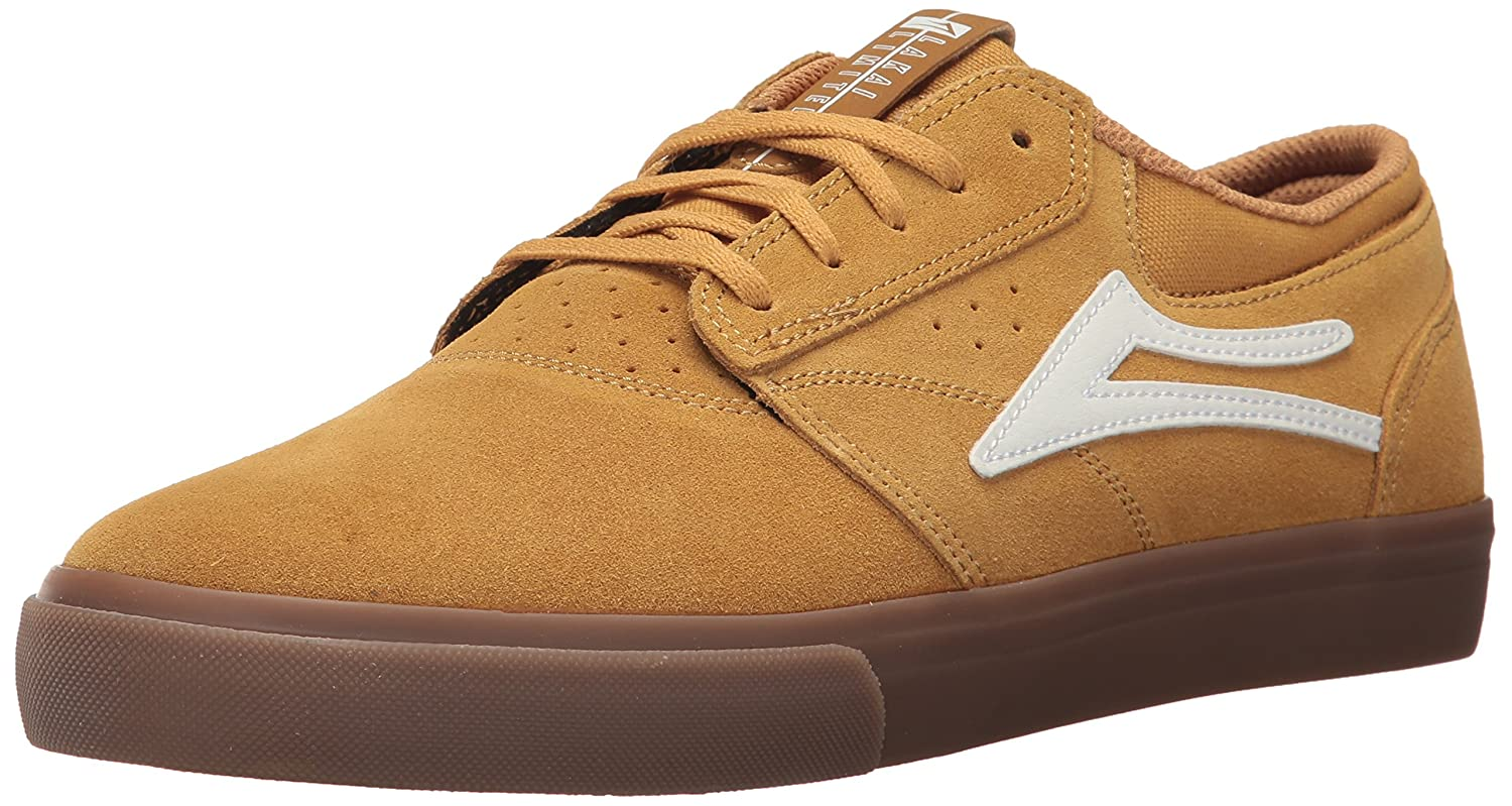 Lakai Griffin Skate Shoe B01MR5NWJO 7.5 M US|Gold Suede