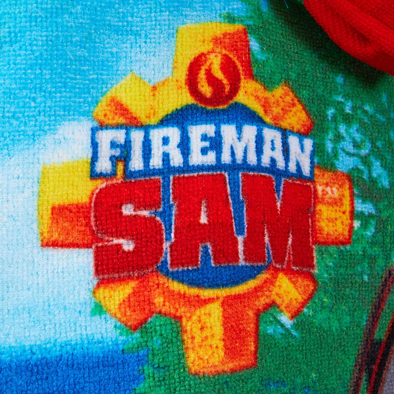 Poncho Estivo con Cappuccio Lora Dora Fireman Sam