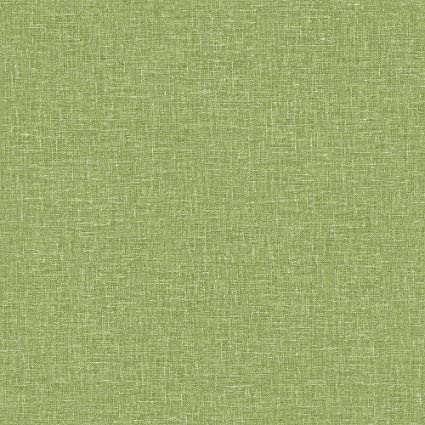 Linen Texture Moss Green Wallpaper Woven Effect Modern Feature Luxury arthouse: Amazon.co.uk: DIY & Tools