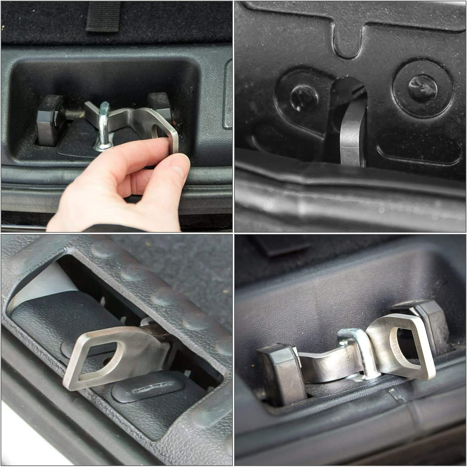 Car Tailgate Bracket Rear Barn Double-Door Holder Replacement for VW T4 T5 T6 Bus California Camping MULTIVAN Tailgate Bar Bracket